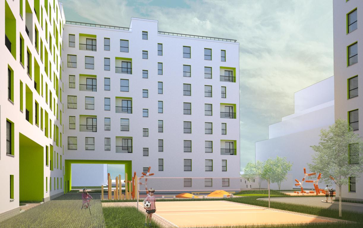 Дипломный проект Многоэтажный жилой дом в условиях  Дипломный проект Многоэтажный жилой дом в условиях реконструкции квартала в г Новосибирске