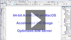 64-бит для Mac OS, усовершенствования IFC и BIM Сервера