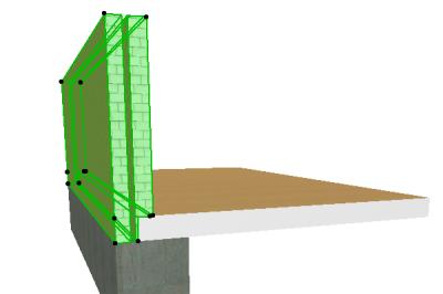 Корректно построенная модель в 3D