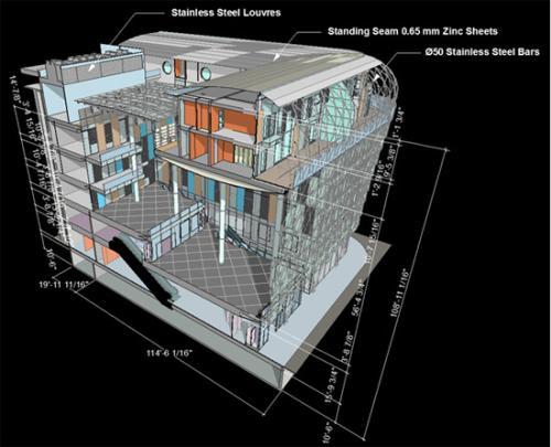 Рисунок 1. Результат работы нового инструмента ARCHICAD 12 - 3D документ.