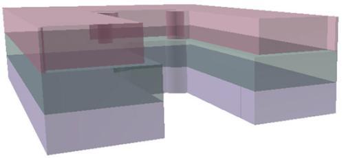 Рисунок 15. В 3D можно отображать объемы зон