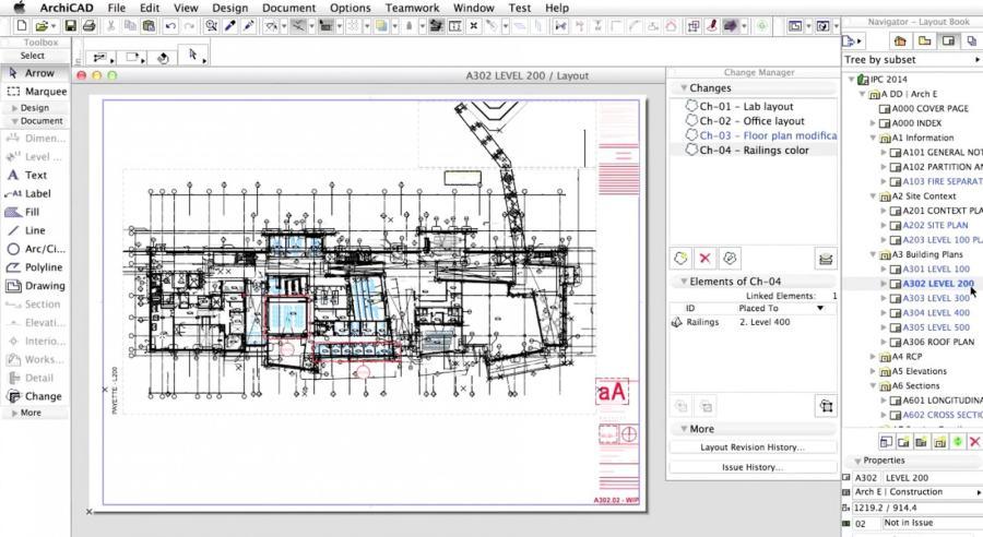 Реализованные в archicad 18 решения позволяют построить непрерывный процесс